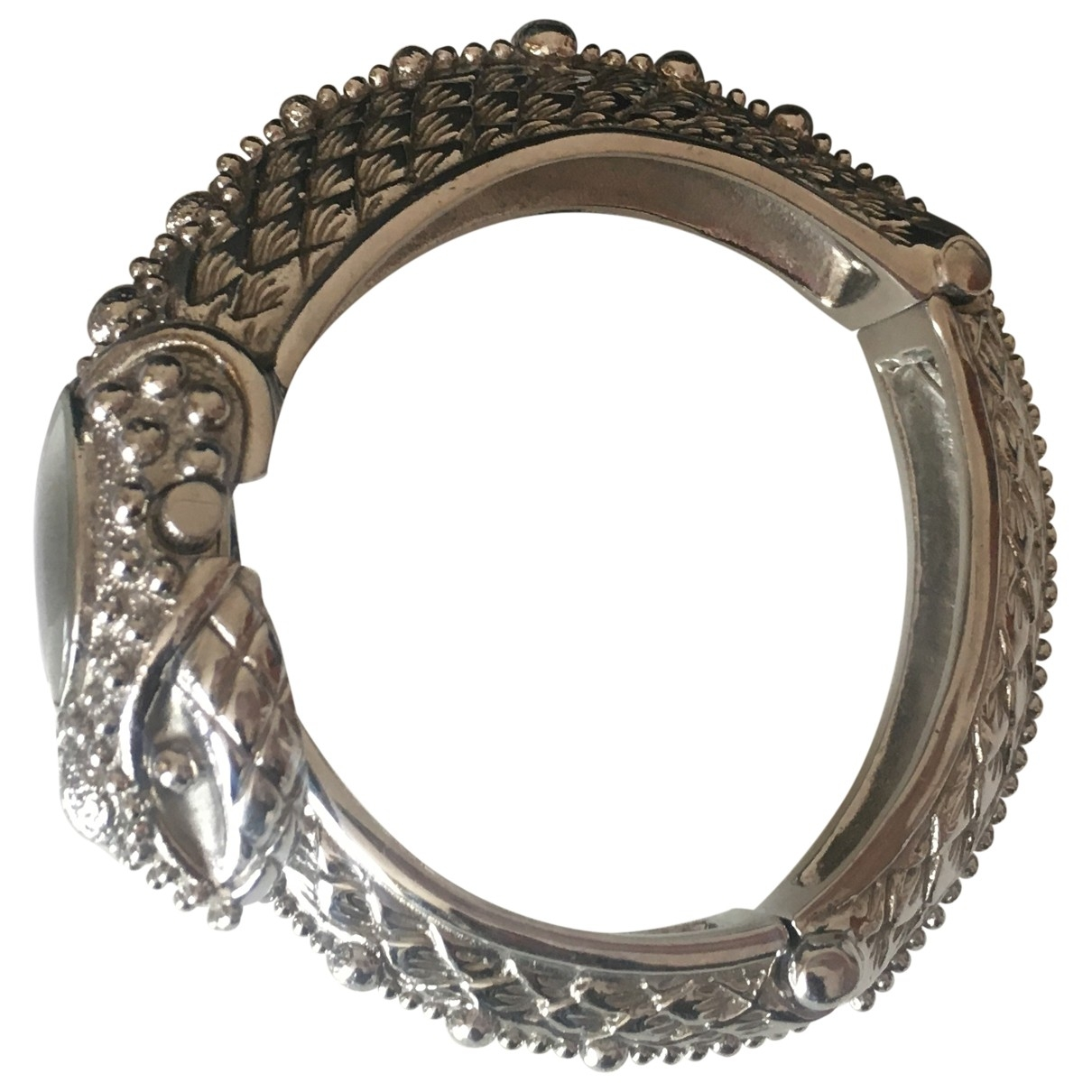 Roberto Cavalli \N Silver Steel watch for Women \N