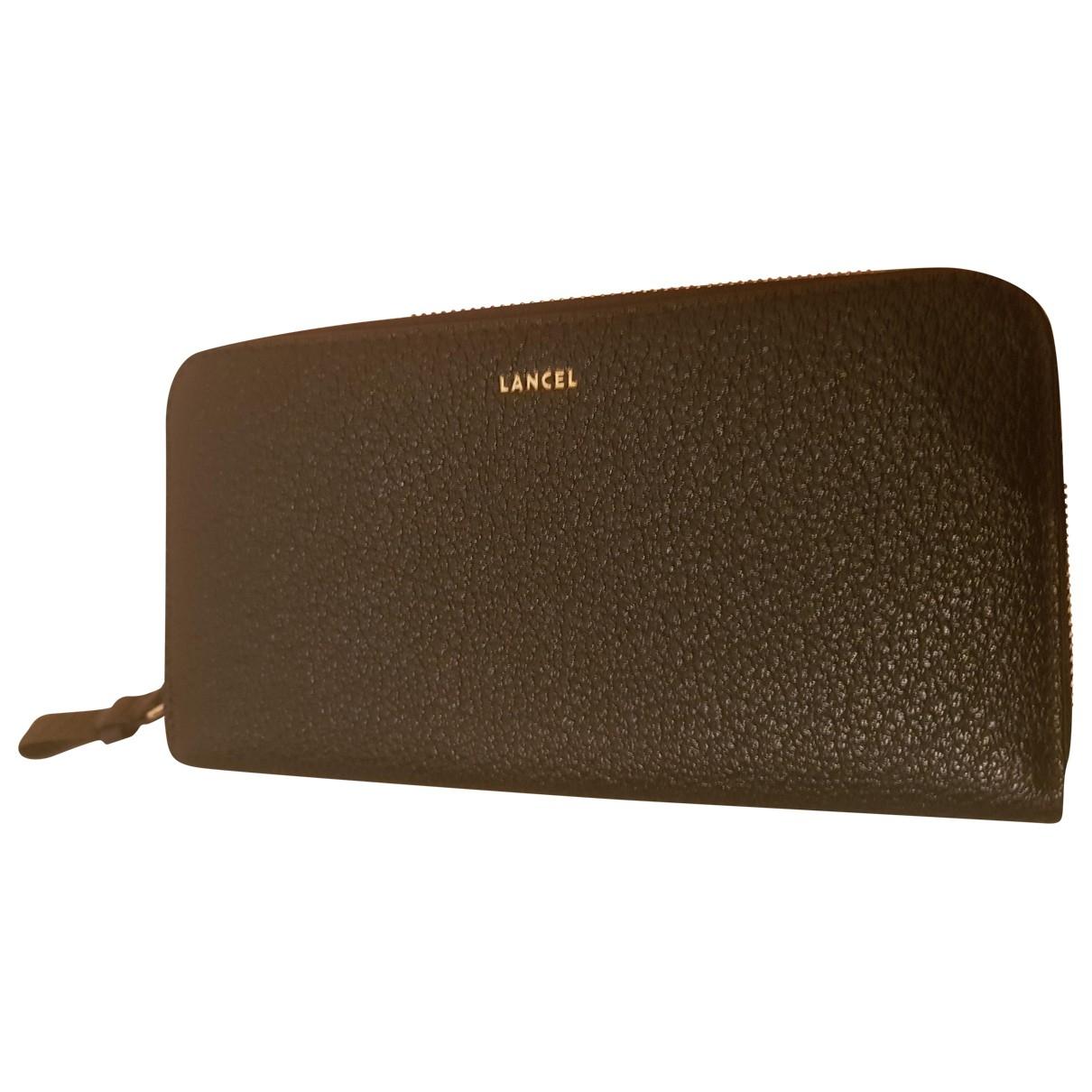 Lancel - Petite maroquinerie   pour femme en cuir - noir