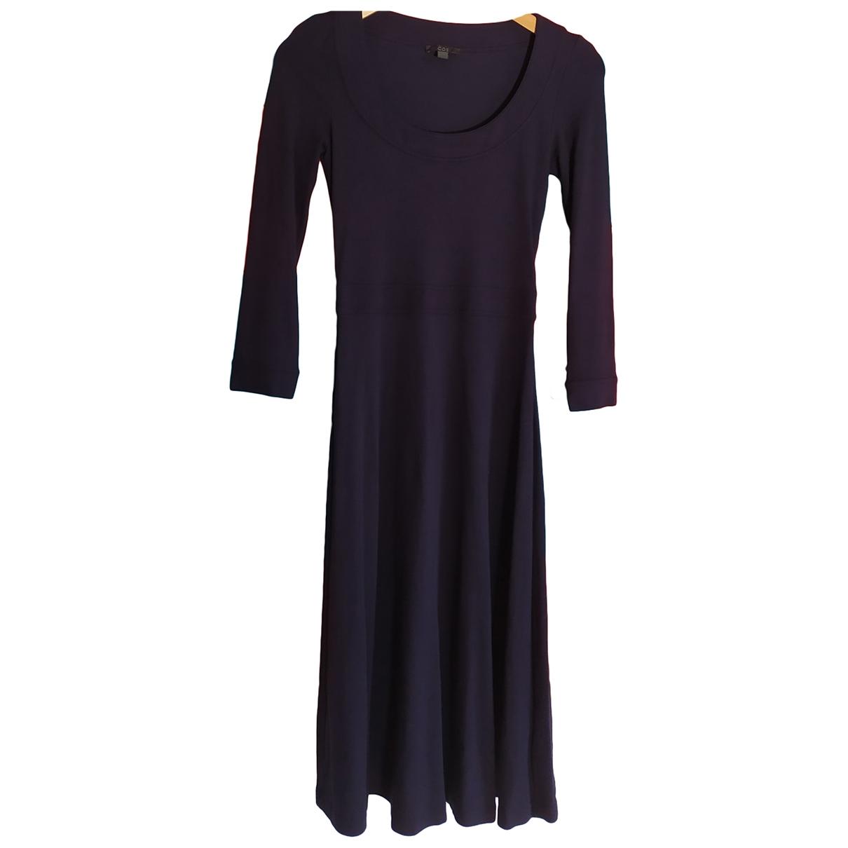 Cos \N Kleid in  Blau Viskose