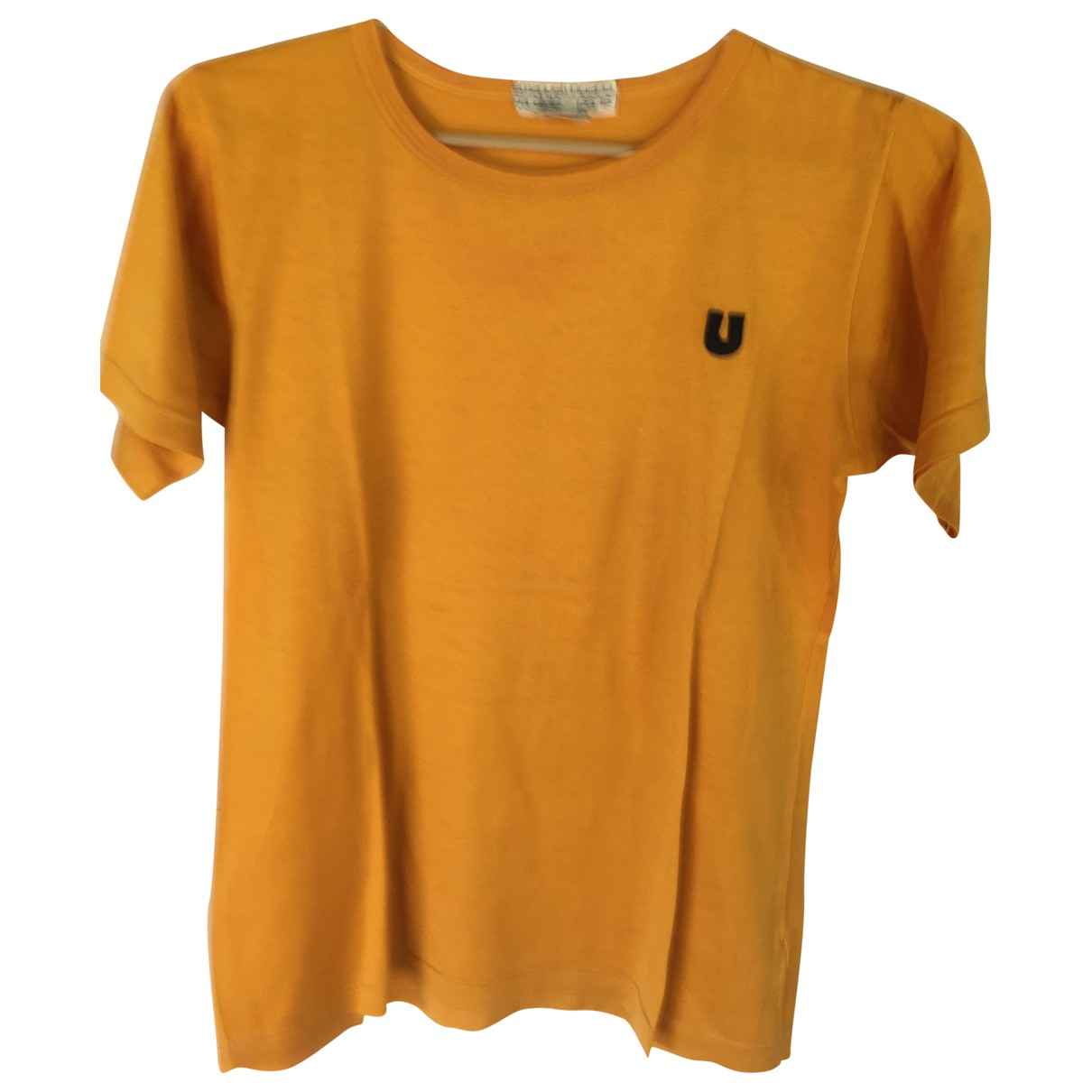 Emanuel Ungaro \N Yellow Cotton  top for Women 42 IT