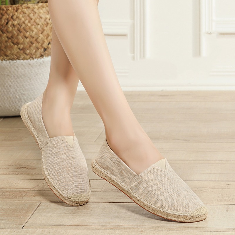 Ericdress Plain Slip-On Flat Heel Closed Toe Thin Shoes