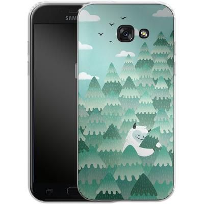 Samsung Galaxy A5 (2017) Silikon Handyhuelle - Tree Hugger von Little Clyde