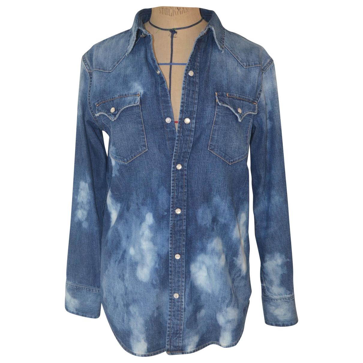 Ralph Lauren Purple Label \N Blue Denim - Jeans  top for Women 6 UK