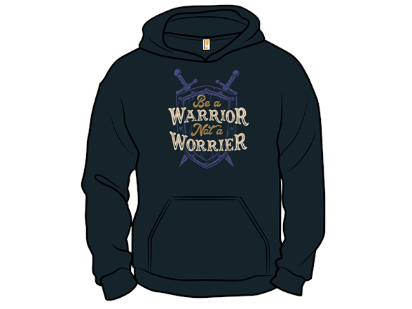 Be A Warrior Tank Top