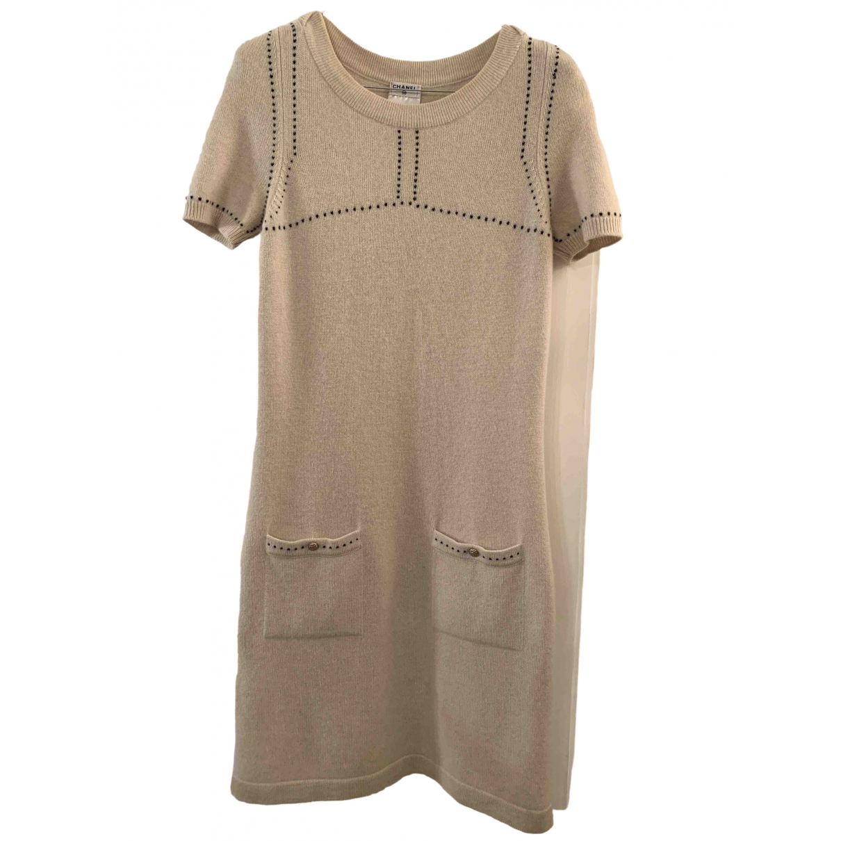 Chanel \N Multicolour Cashmere dress for Women 38 FR