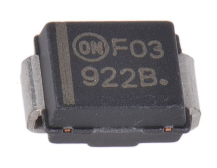 ON Semiconductor , 7.5V Zener Diode 5% 3 W SMT 2-Pin SMB (50)