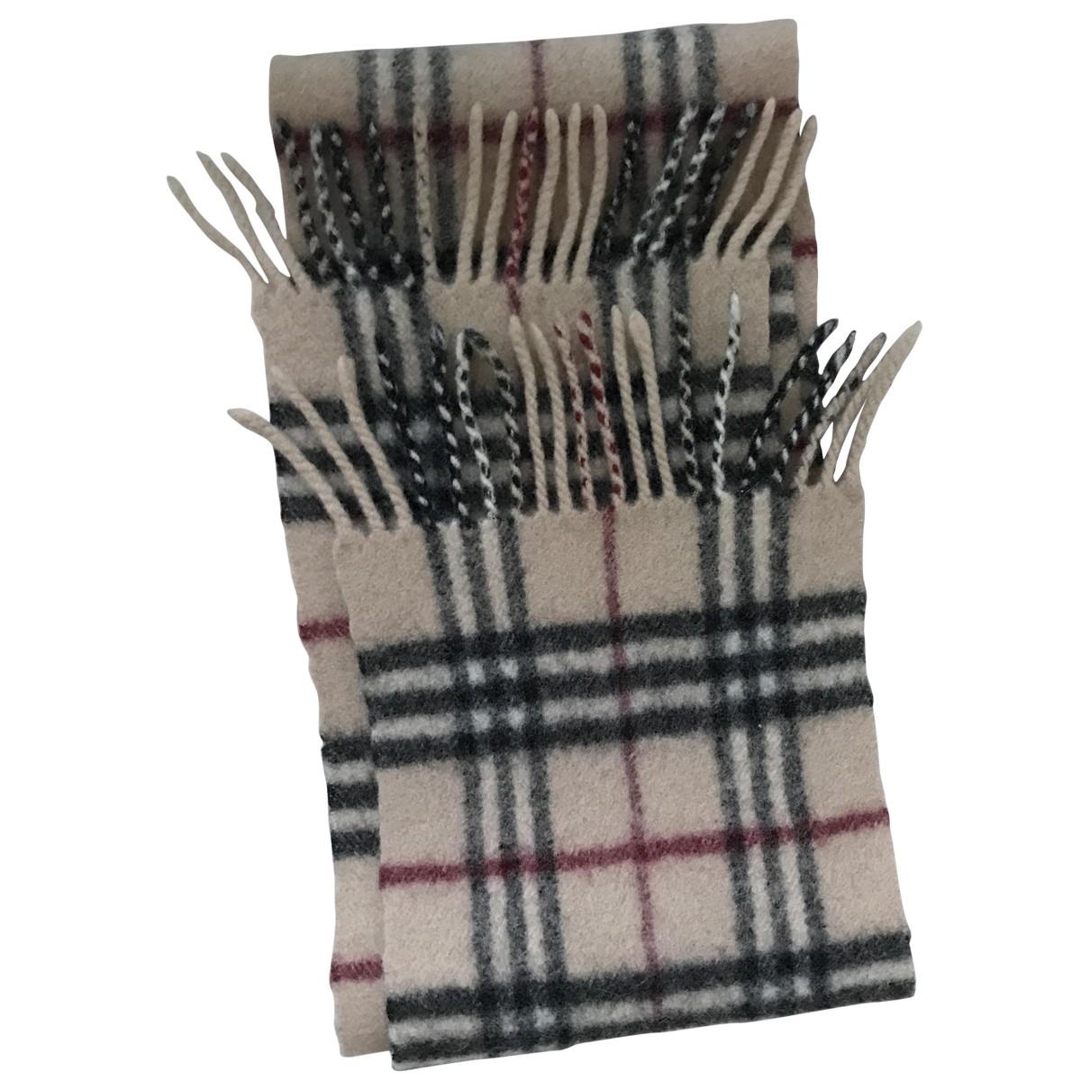 Burberry \N Beige Wool scarf for Kids \N