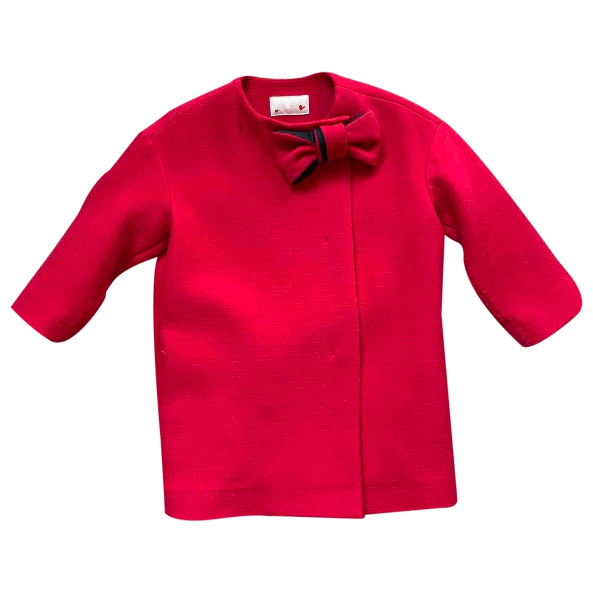 Lanvin \N Pink Wool jacket & coat for Kids 4 years - up to 102cm FR