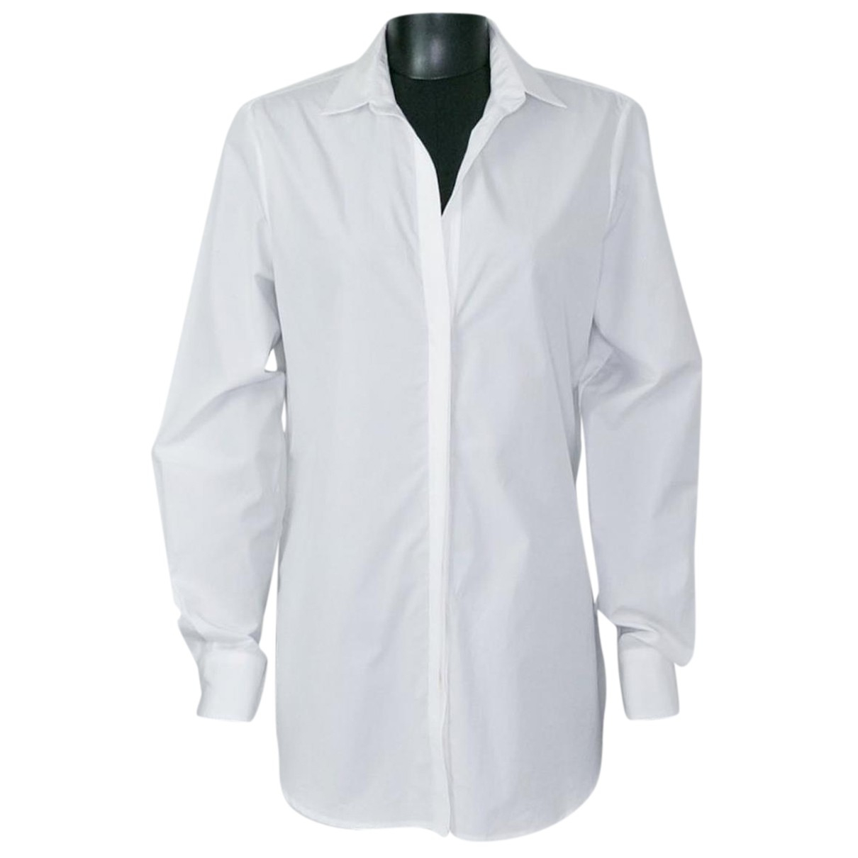 Loro Piana - Top   pour femme en coton - blanc