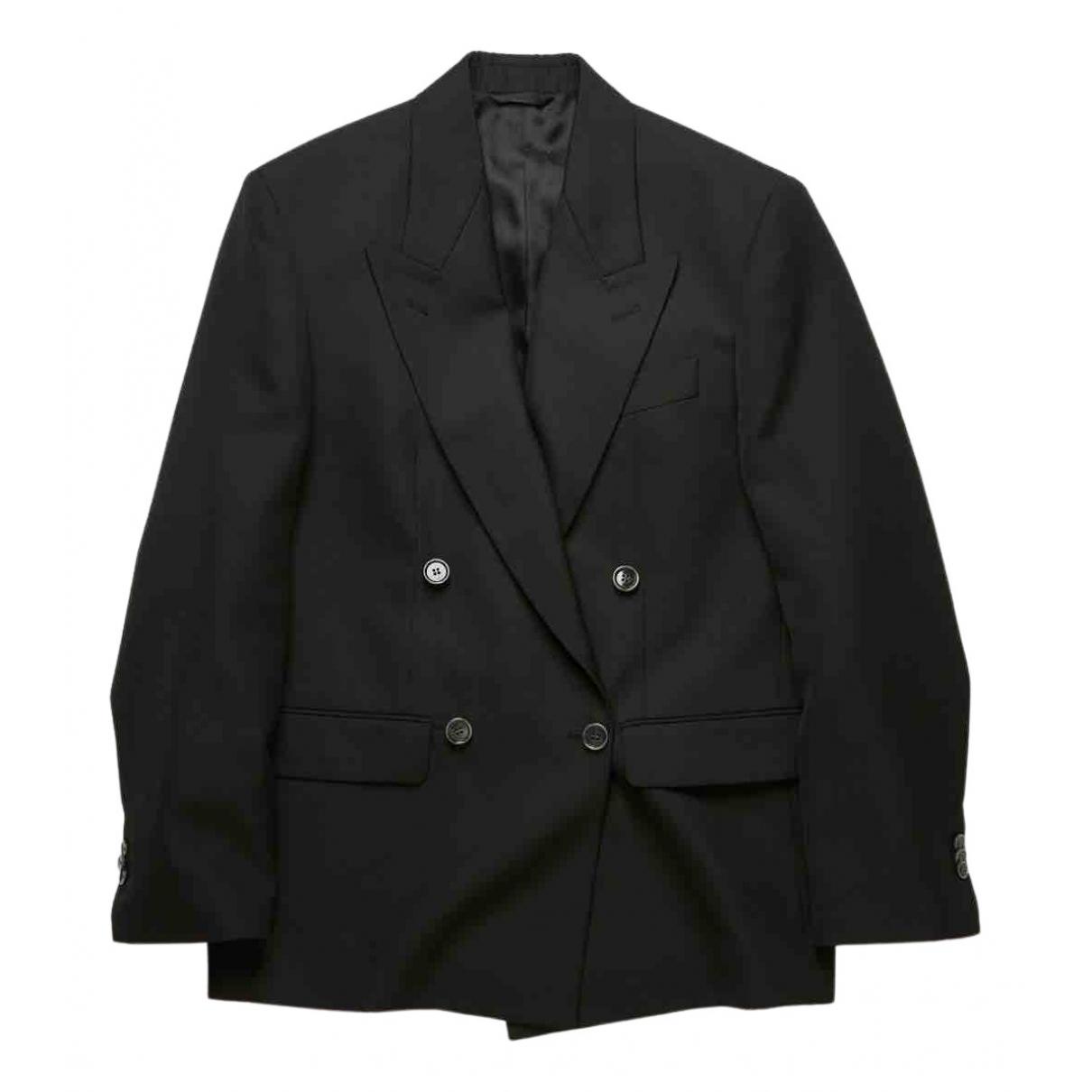 Acne Studios N Black Wool jacket for Women 38 IT