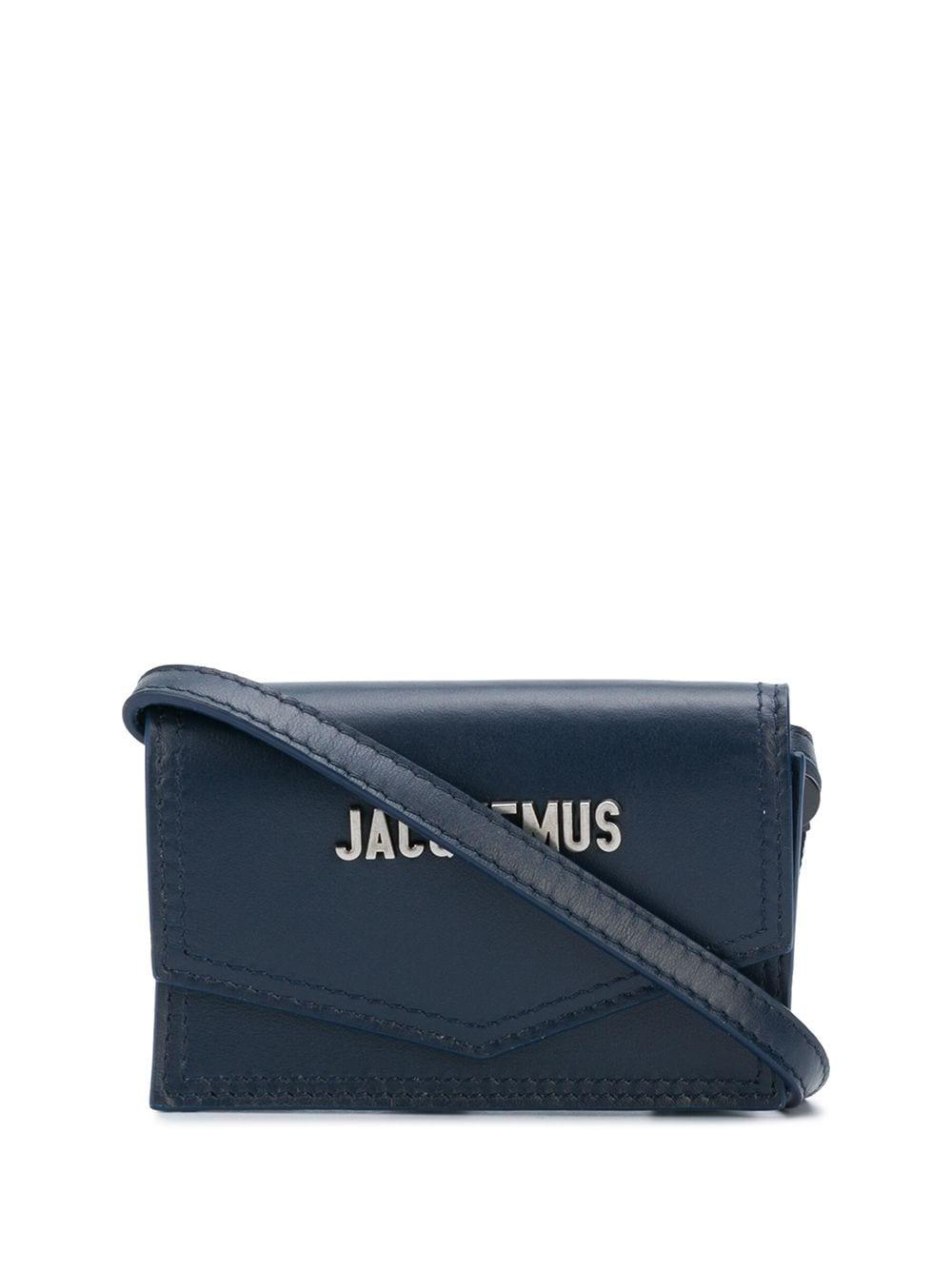 Le Porte Azur Leather Wallet