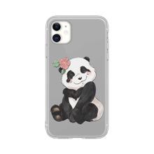 iPhone Schutzhuelle mit Panda Muster