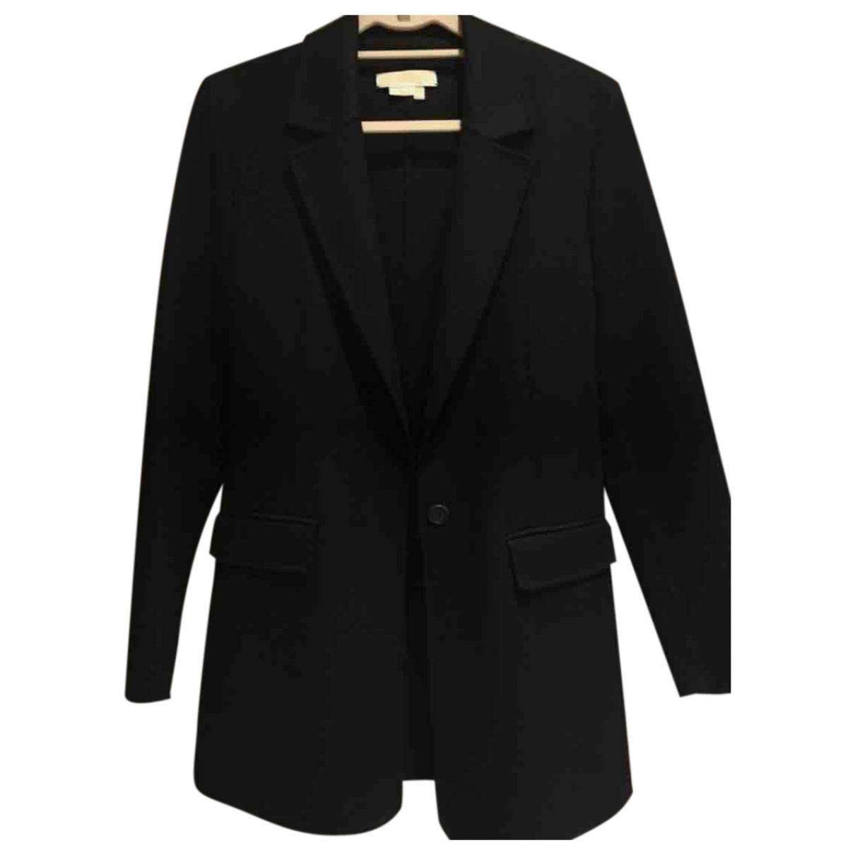 Michael Kors \N Black Wool jacket for Women 32 FR