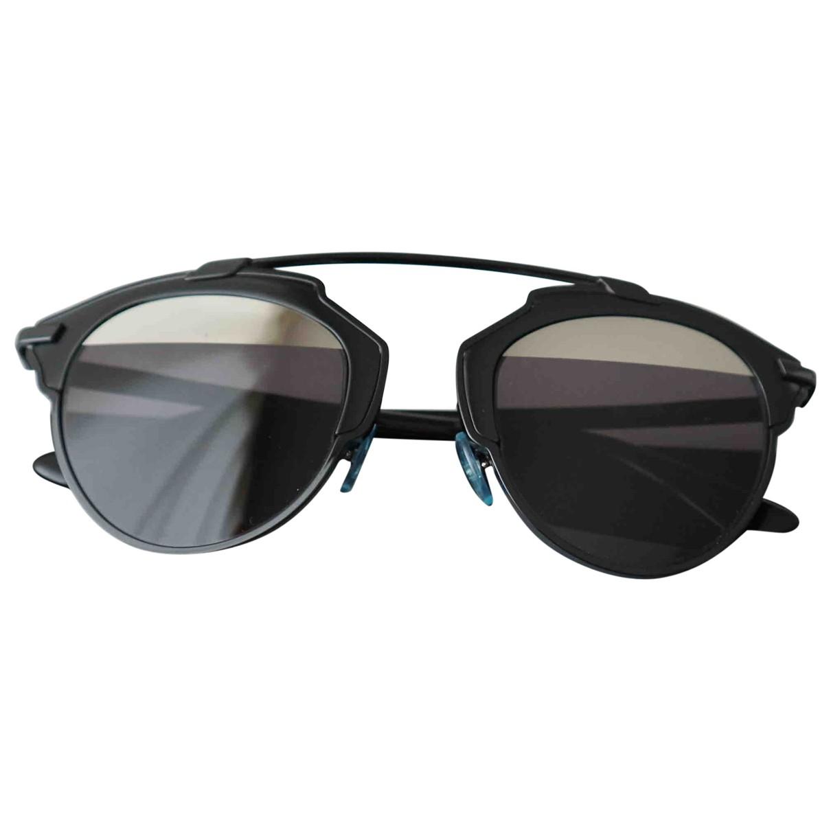 Dior So Real  Black Metal Sunglasses for Women N