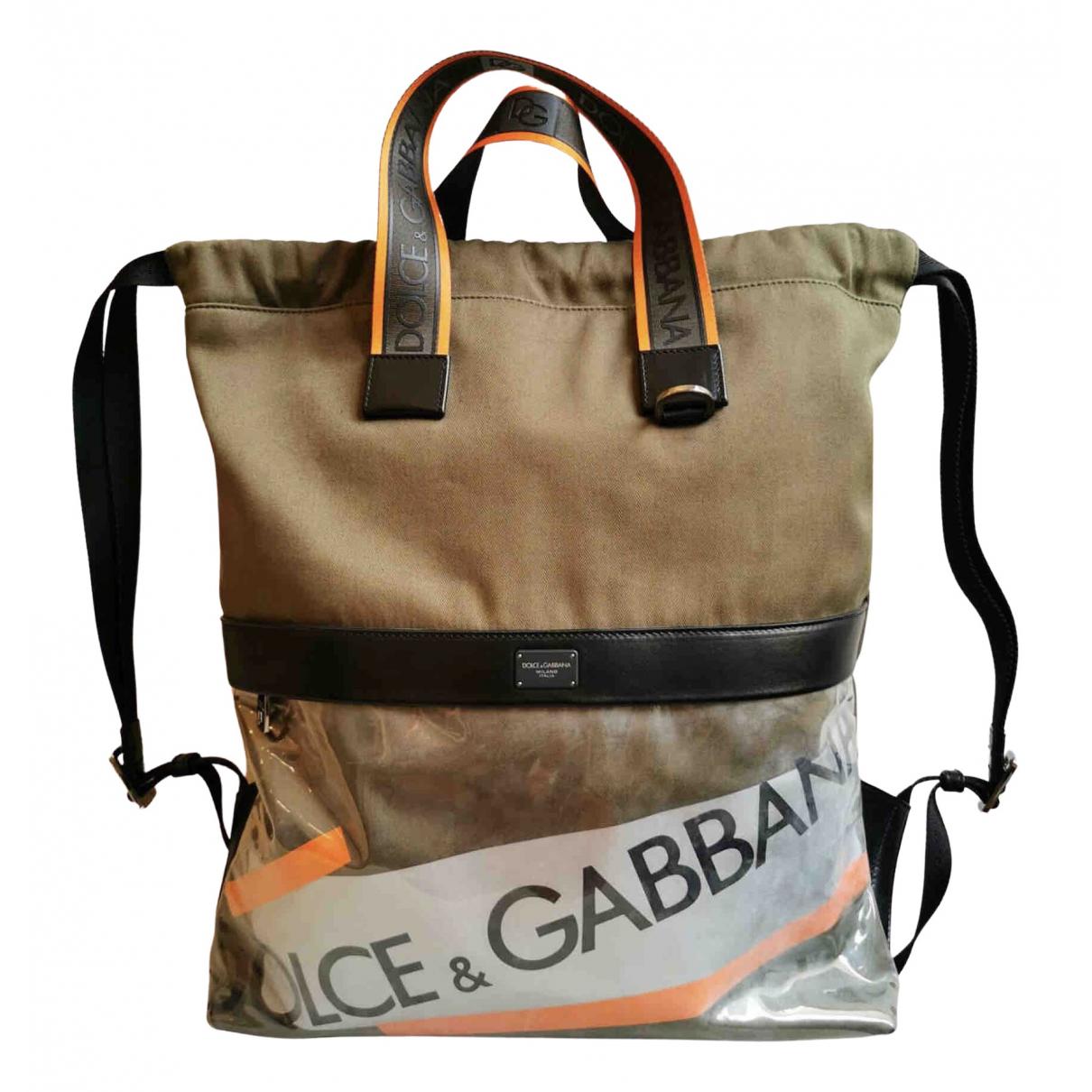 Dolce & Gabbana \N Taschen in  Beige Baumwolle