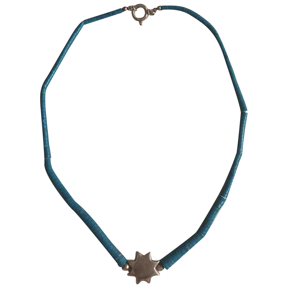 - Collier Turquoises pour femme en argent - turquoise