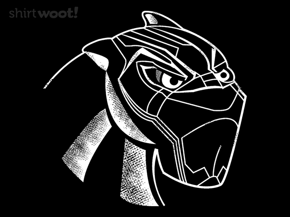 The Real Black Panther T Shirt