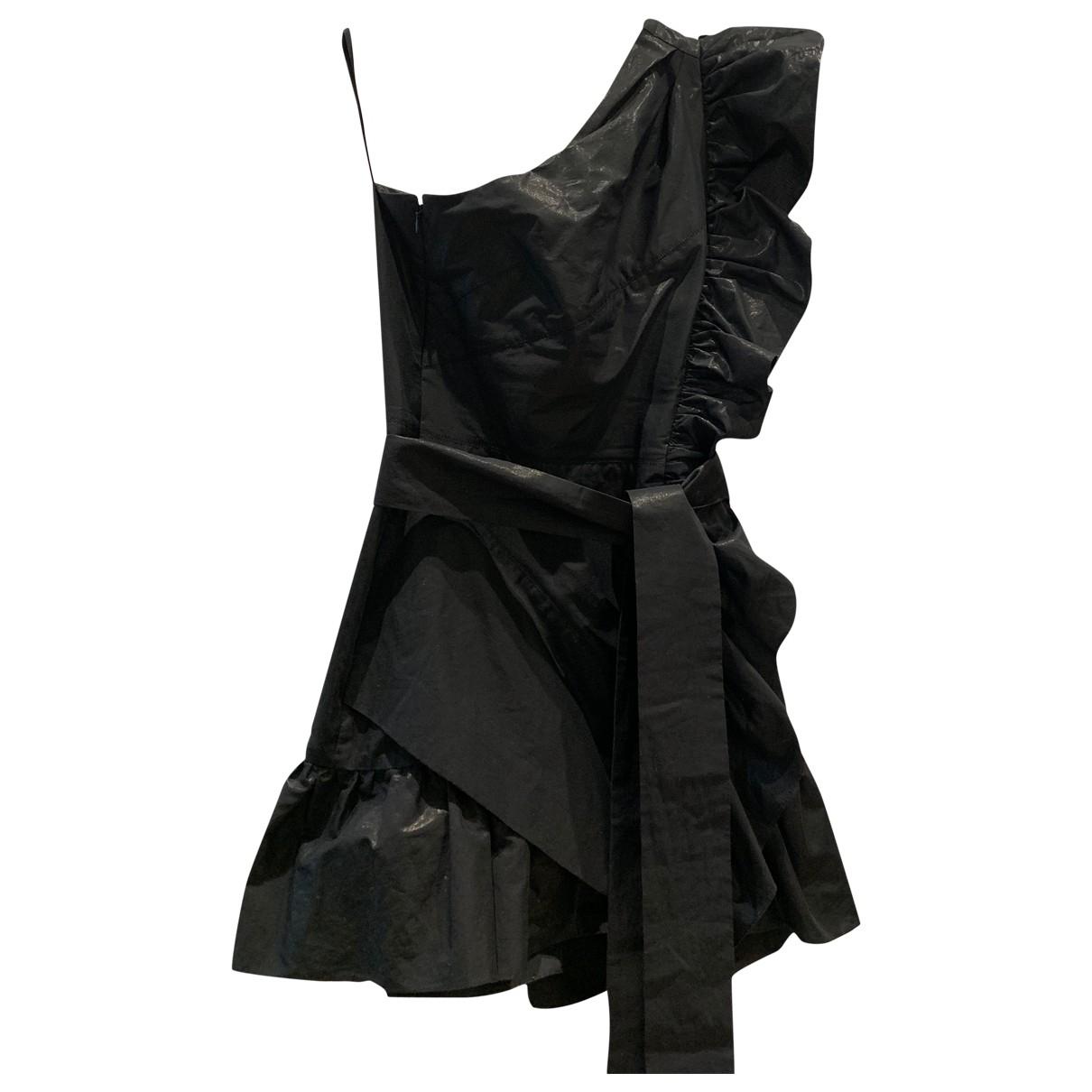Isabel Marant \N Black Cotton dress for Women 36 FR