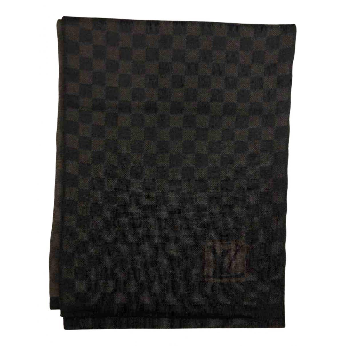 Louis Vuitton - Cheches.Echarpes   pour homme en laine - marron