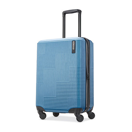 American Tourister Stratum Xlt 20 Inch Hardside Lightweight Luggage, One Size , Blue