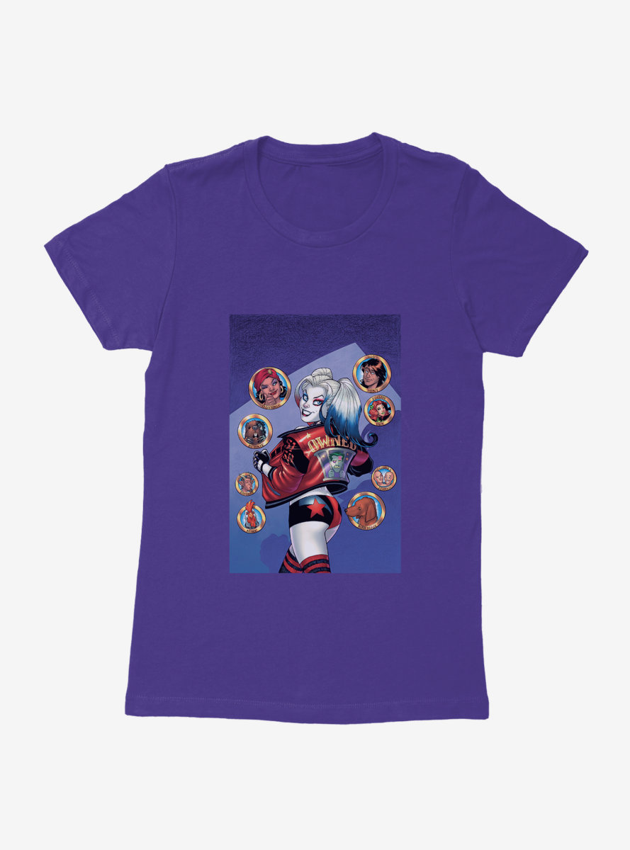 DC Comics Batman Harley Quinn Owned Jacket Womens T-Shirt