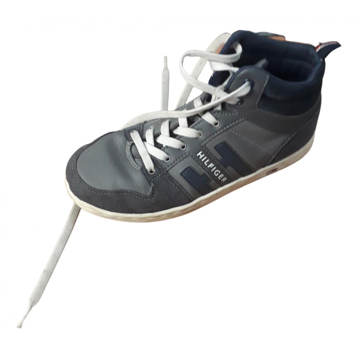 Tommy Hilfiger \N Sneakers in  Grau Kautschuk