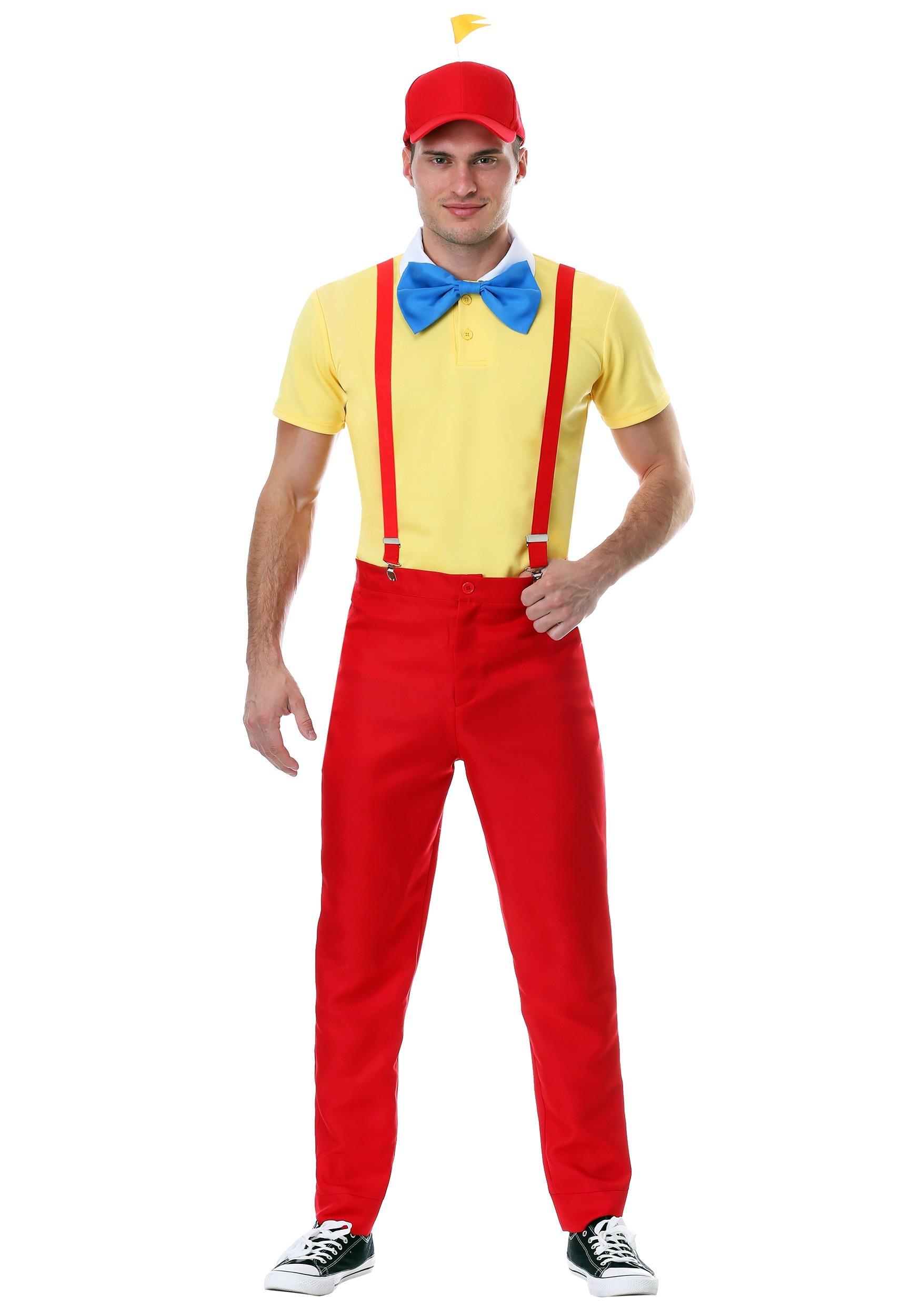 Dapper Tweedle Dee/Dum Plus Size Costume for Men 2X