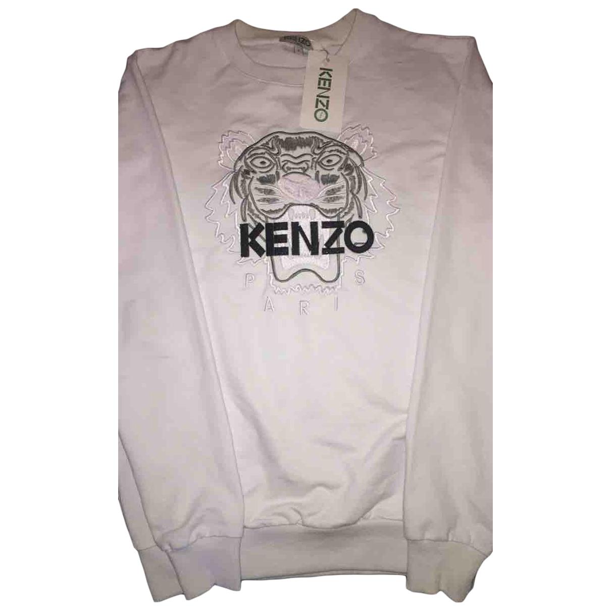 Kenzo \N Pullover.Westen.Sweatshirts  in  Weiss Baumwolle
