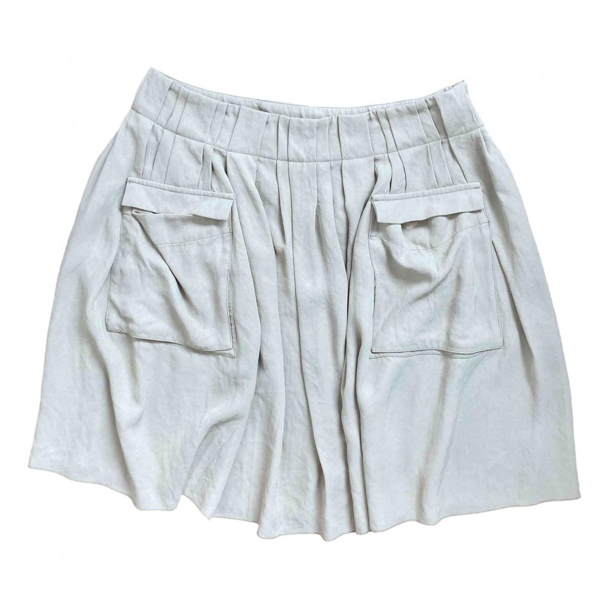 Prada \N Beige skirt for Women 42 IT