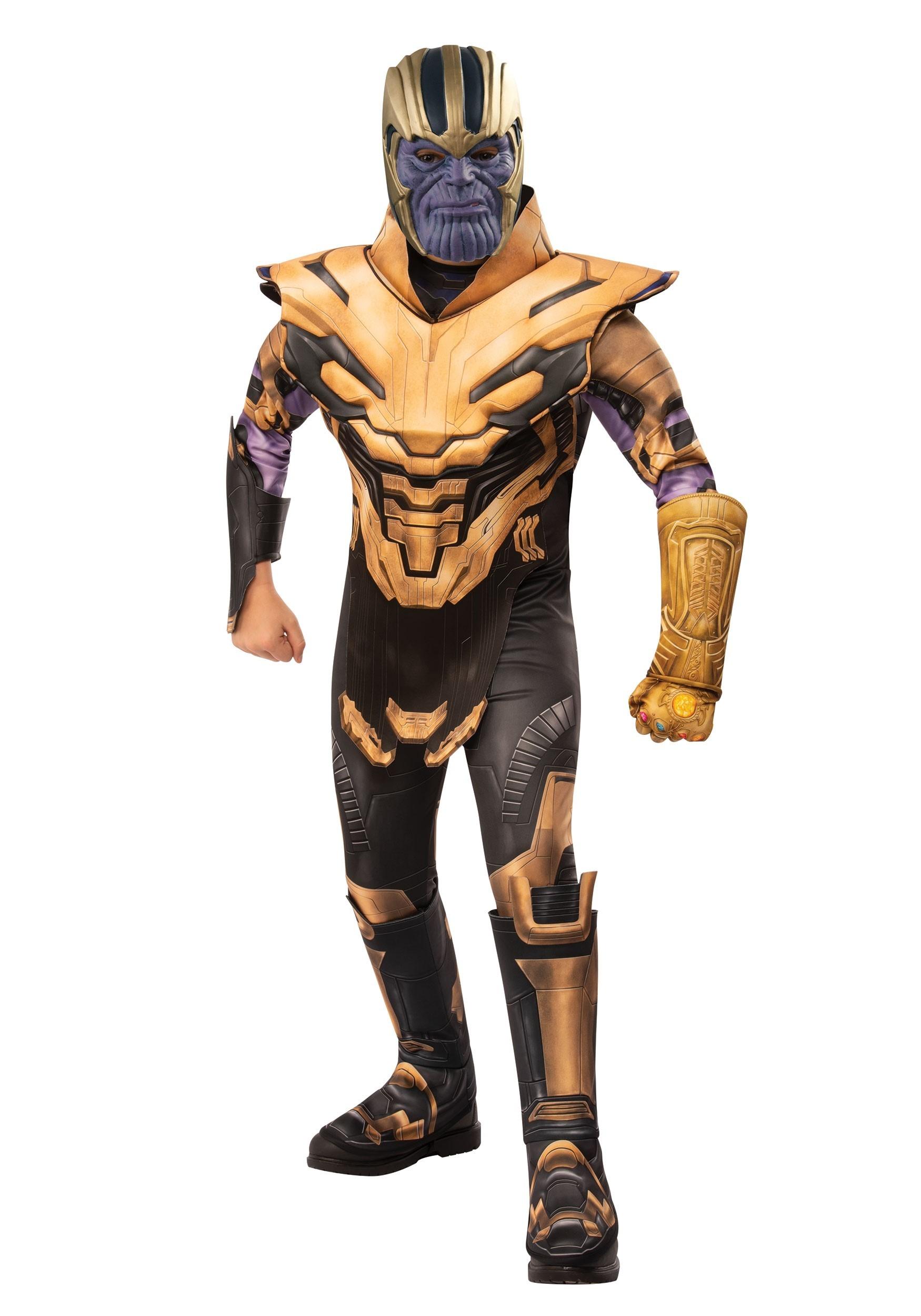 Deluxe Avengers Endgame Thanos Costume for Boys