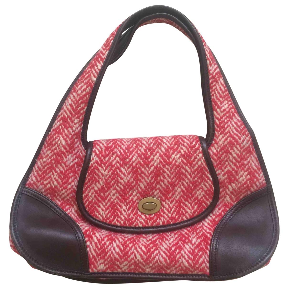 Miu Miu \N Handtasche in  Rot Wolle