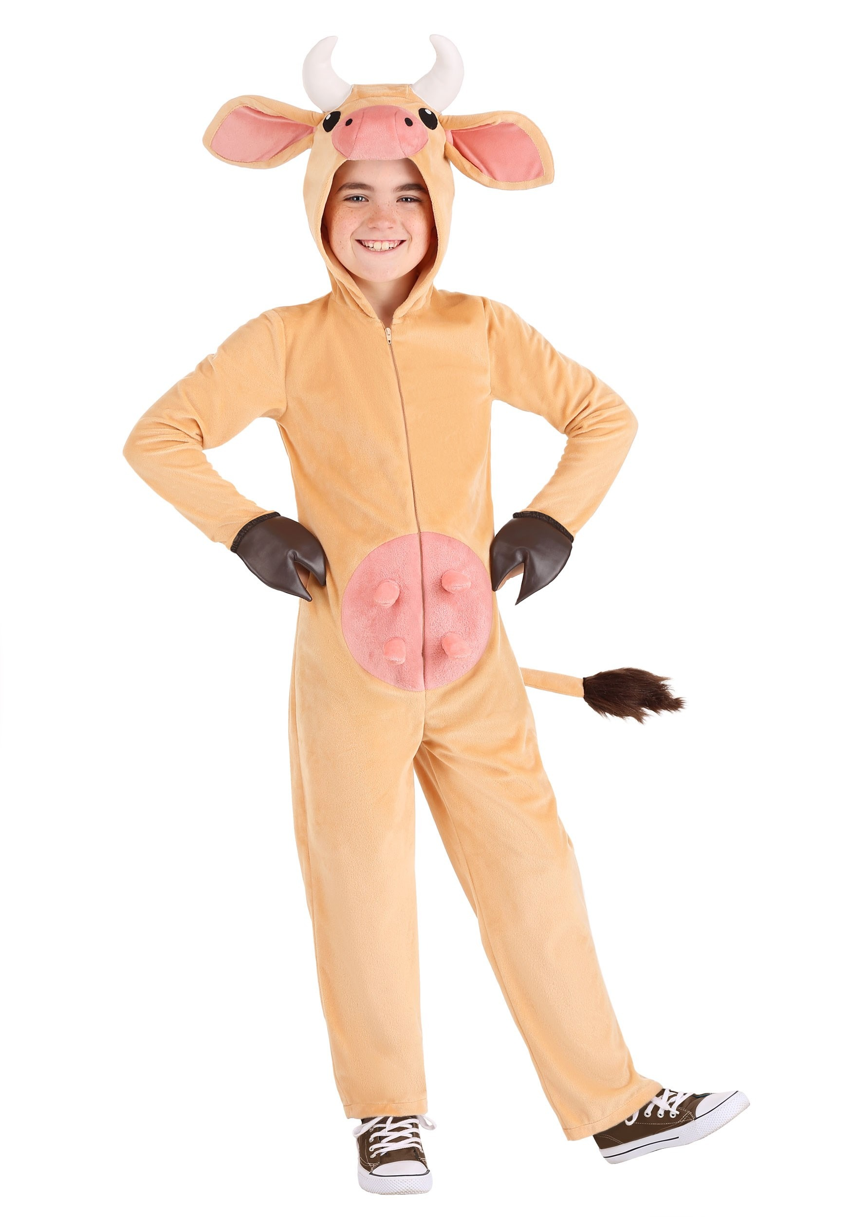 Brown Cow Kid's Costume