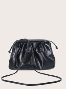 Ruched Crossbody Bag