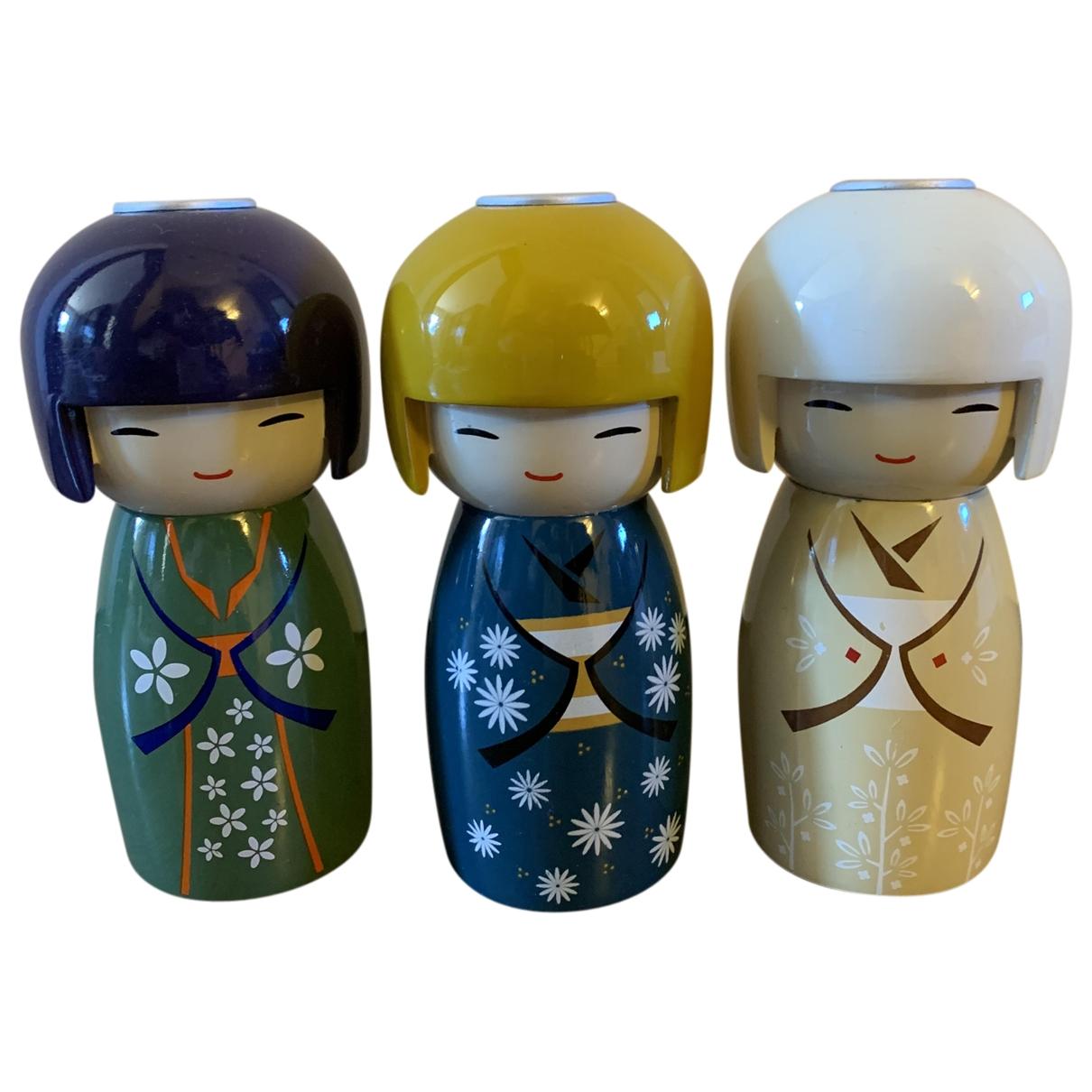 - Objets & Deco   pour lifestyle en bois - multicolore