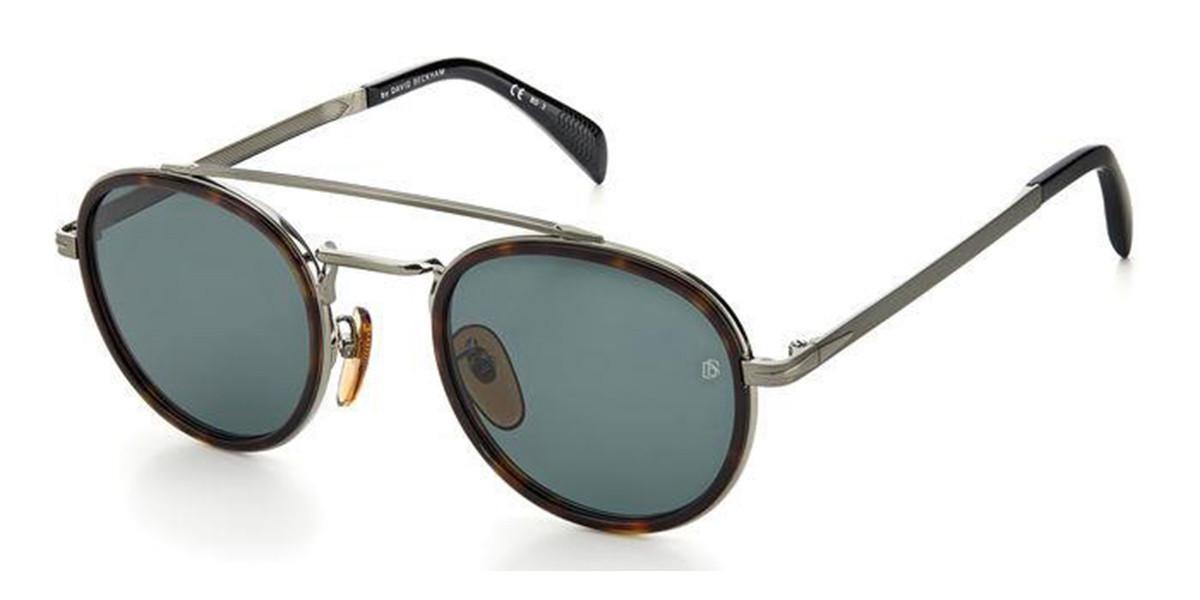David Beckham DB 7036/S 3MA/QT Mens Sunglasses Tortoise Size 50