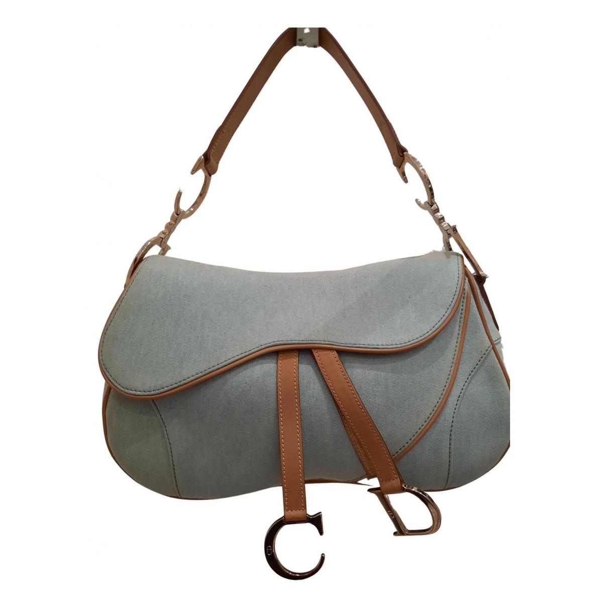 Bolso  Double Saddle de Lona Dior