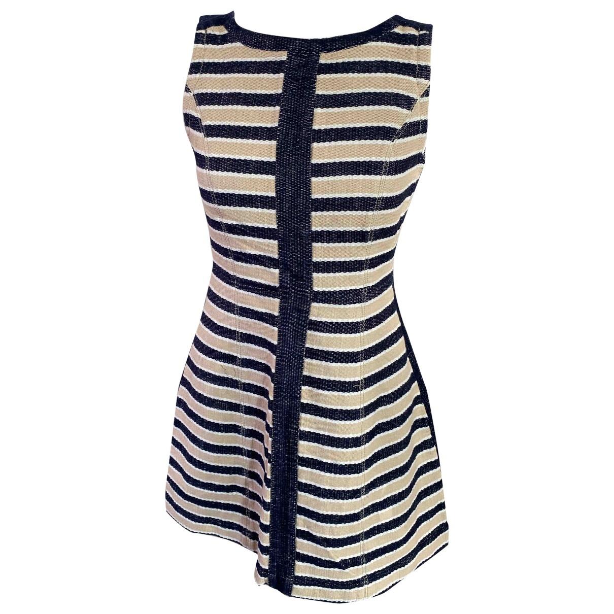 Max & Co \N Kleid in  Blau Baumwolle