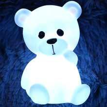 Luz nocturna en forma de oso