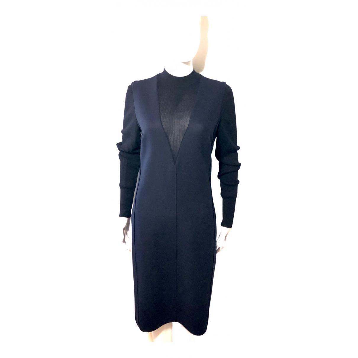 Paul Smith - Robe   pour femme en laine - marine