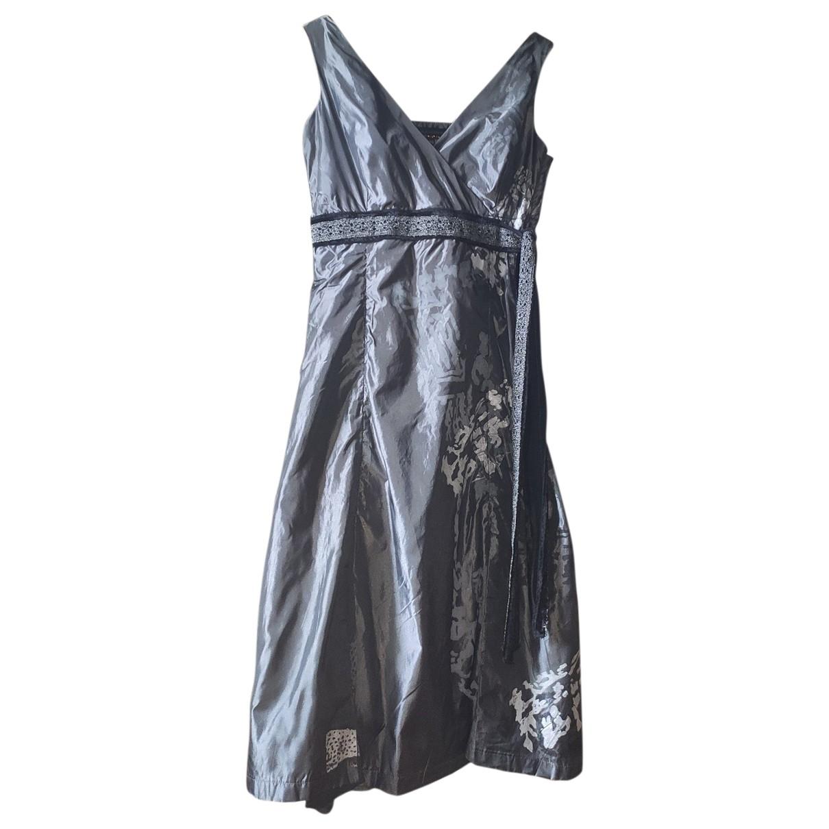 Adolfo Dominguez \N Kleid in  Grau Polyester