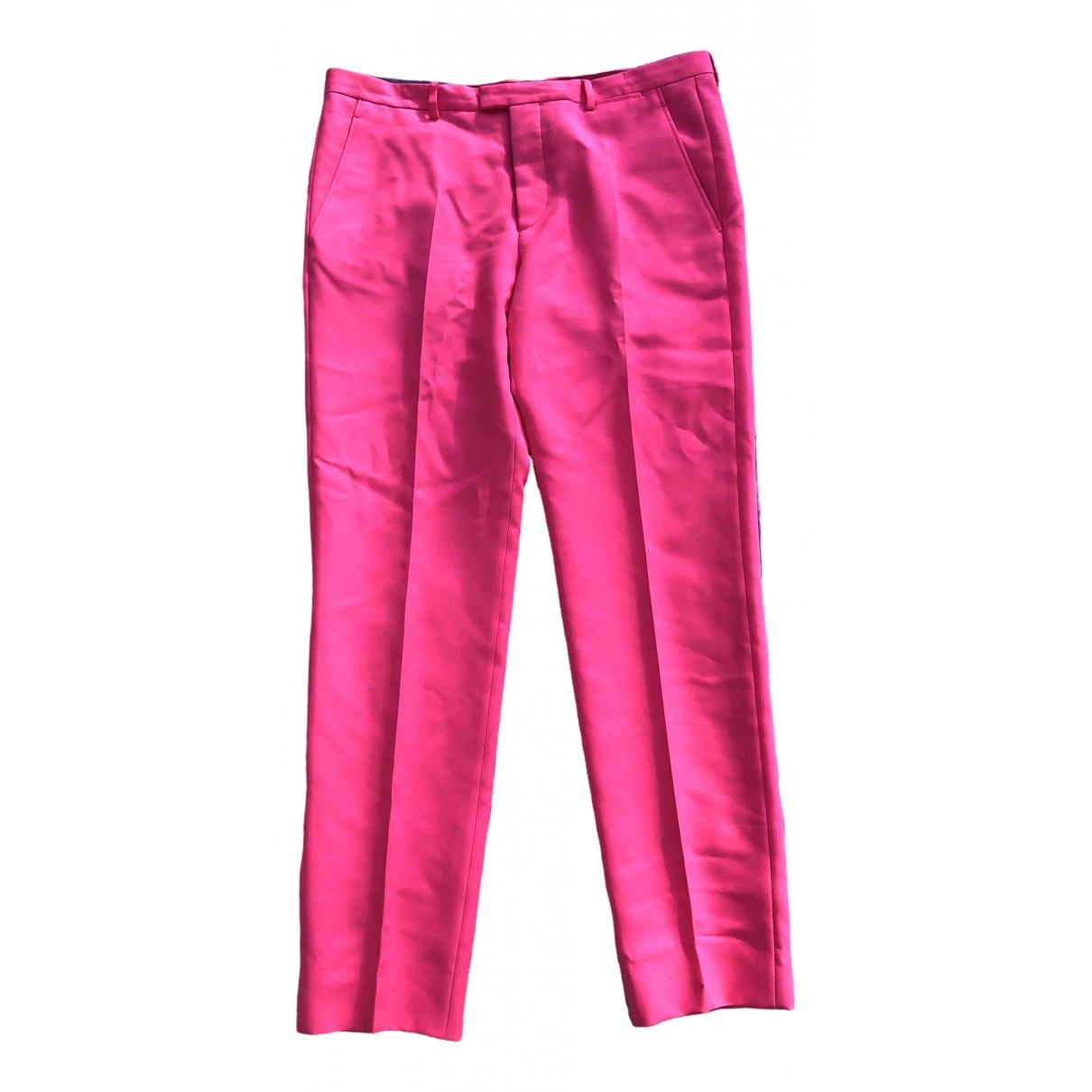 Jil Sander \N Pink Trousers for Men 52 IT