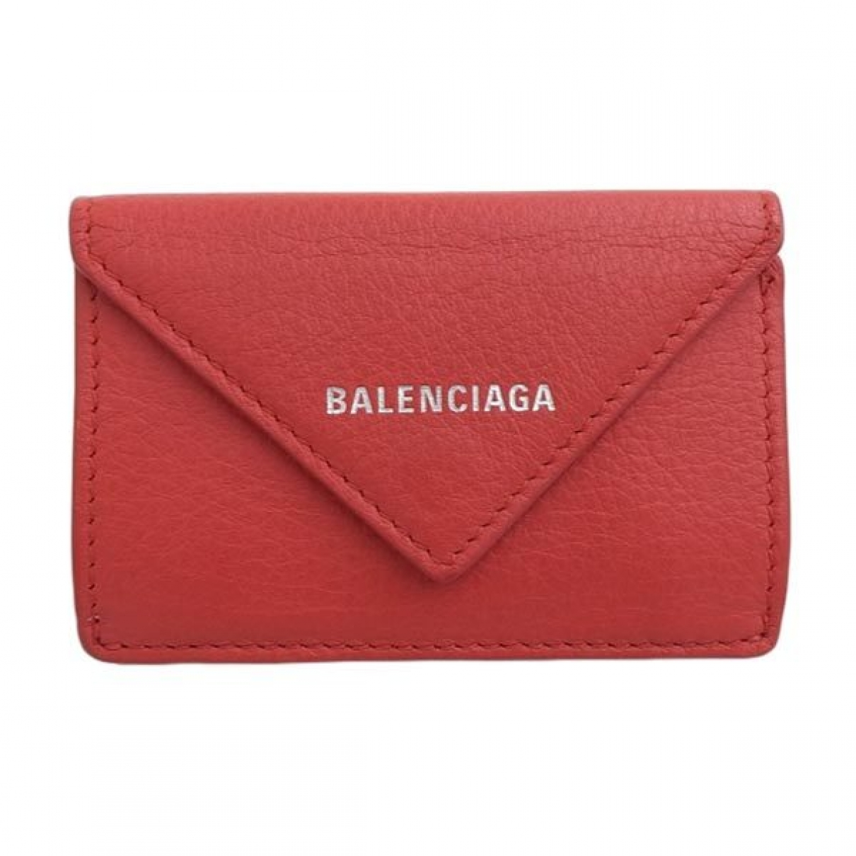 Balenciaga \N Red Leather wallet for Women \N