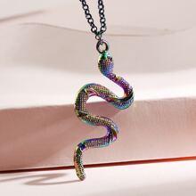 Collar con serpiente