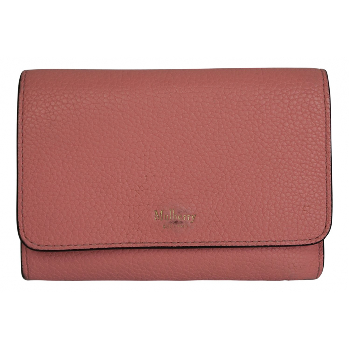 Mulberry N Pink Leather wallet for Women N