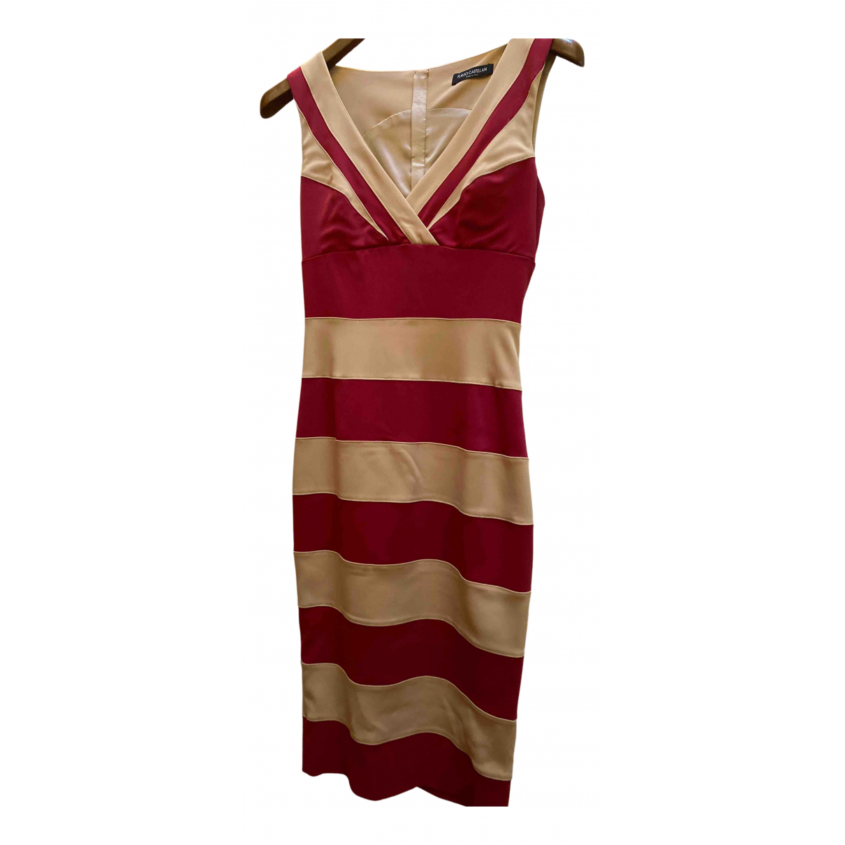 Flavio Castellani N Burgundy Cotton dress for Women 42 IT