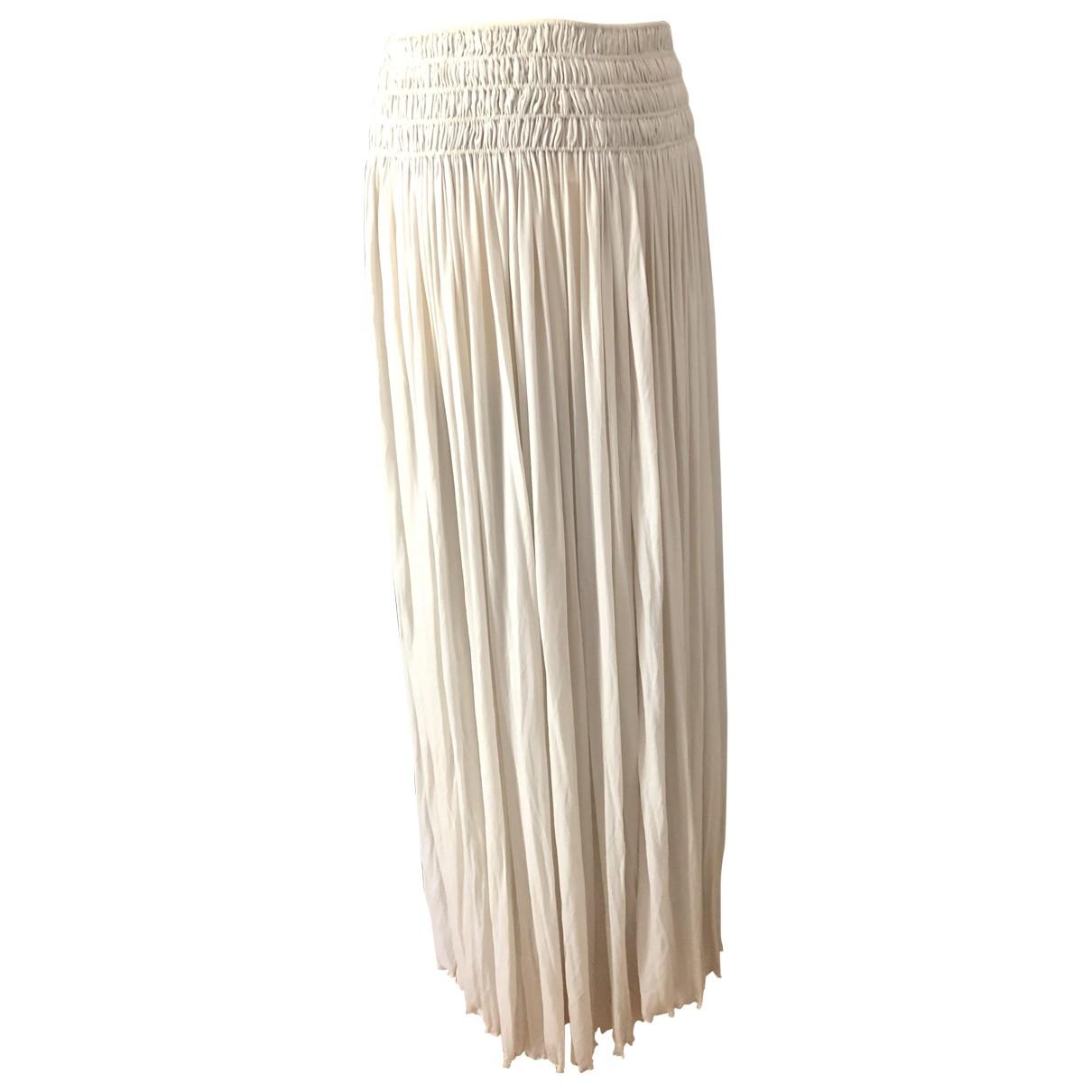 Alaïa \N Grey skirt for Women 36 FR