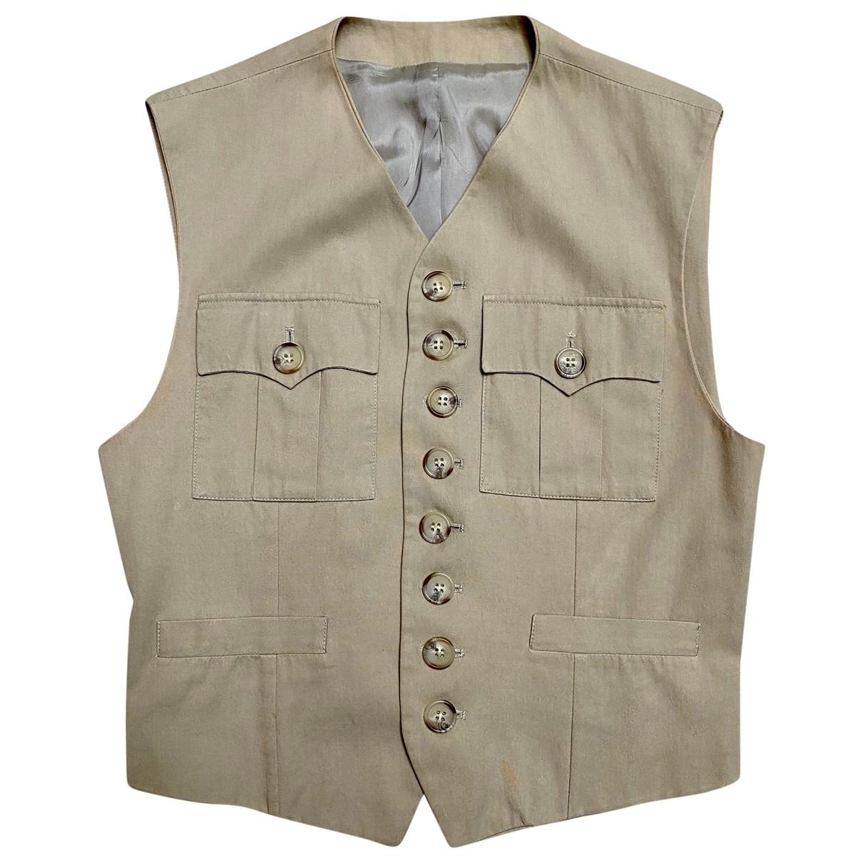Dolce & Gabbana \N Beige Cotton Knitwear & Sweatshirts for Men 46 IT
