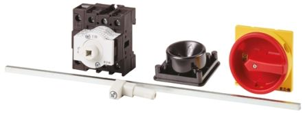Eaton 3 + N Pole Panel Mount Non Fused Isolator Switch - 32 A Maximum Current, 18.5 kW Power Rating, IP65