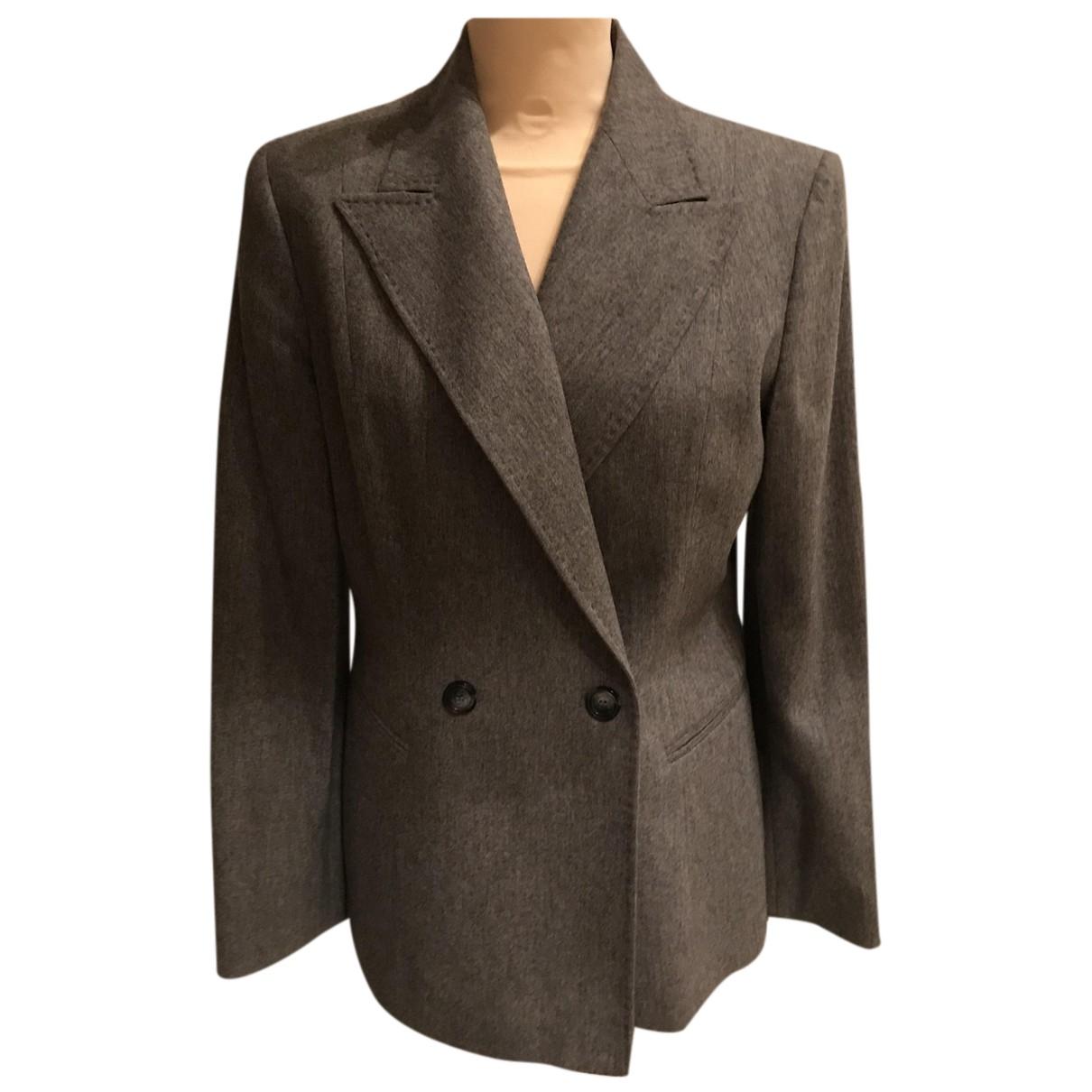 Gianfranco Ferré N Grey Wool jacket for Women 44 IT