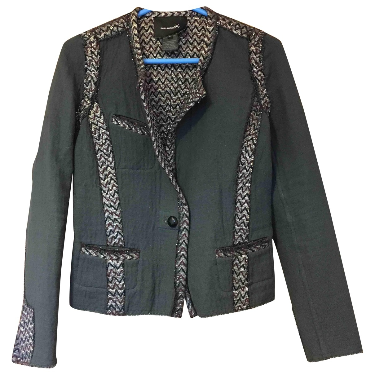 Isabel Marant \N Anthracite Cotton jacket for Women 0 0-5